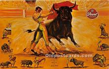 spo017473 - Old Vintage Bull Fighting Postcard Post Card
