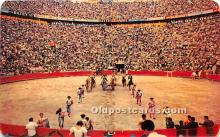 spo017476 - Old Vintage Bull Fighting Postcard Post Card