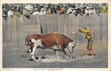 spo017477 - Old Vintage Bull Fighting Postcard Post Card