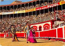 spo017486 - Old Vintage Bull Fighting Postcard Post Card