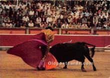 spo017487 - Old Vintage Bull Fighting Postcard Post Card