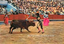 spo017488 - Old Vintage Bull Fighting Postcard Post Card