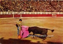 spo017489 - Old Vintage Bull Fighting Postcard Post Card