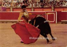 spo017490 - Old Vintage Bull Fighting Postcard Post Card