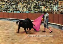 spo017492 - Old Vintage Bull Fighting Postcard Post Card