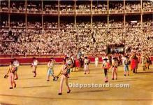 spo017493 - Old Vintage Bull Fighting Postcard Post Card