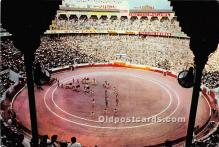 spo017497 - Old Vintage Bull Fighting Postcard Post Card