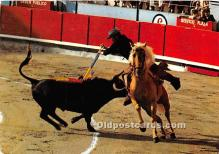 spo017504 - Old Vintage Bull Fighting Postcard Post Card