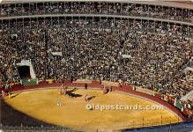spo017506 - Old Vintage Bull Fighting Postcard Post Card