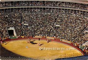 Interior Plaza de Toros en dia de corrida, Bull Ring