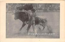 spo017507 - Old Vintage Bull Fighting Postcard Post Card