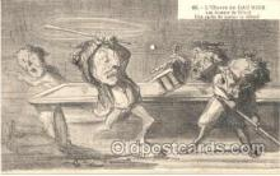 spo018011 - Pool, Billiard, Billiards, Postcard Postcards