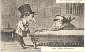 spo018012 - Pool, Billiard, Billiards, Postcard Postcards