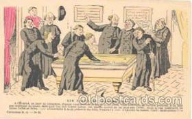 spo018025 - Pool, Billiard, Billiards, Postcard Postcards