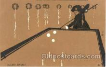 spo018044 - Allori Sicuri, Pool, Billiard, Billiards, Postcard Postcards