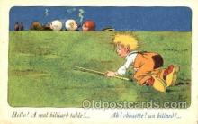spo018052 - Billiards, Pool Postcard Postcards