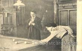 spo018055 - Billiards, Pool Postcard Postcards