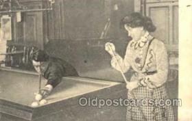 spo018056 - Billiards, Pool Postcard Postcards