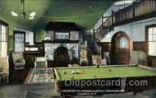spo018065 - Billiards, Pool Casino Loomis, Sanatorium, Loomis NY USA Postcard Postcards