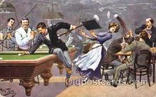 spo018068 - Billiards, Pool Postcard Postcards