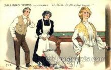 spo018078 - Billiards, Pool Postcard Postcards