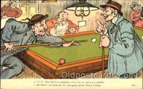 spo018079 - Billiards, Pool Postcard Postcards