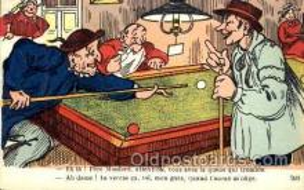 spo018080 - Billiards, Pool Postcard Postcards