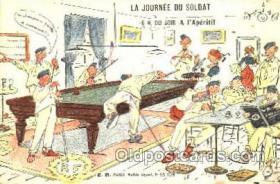 spo018081 - Billiards, Pool Postcard Postcards