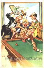 spo018096 - Billiards, Pool Postcard Postcards