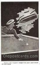 spo018098 - Billiards, Pool Postcard Postcards