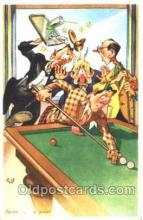 spo018099 - Billiards, Pool Postcard Postcards