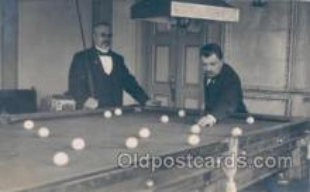spo018205 - Pool, Billiard, Billiards, Postcard Postcards