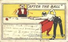 spo018216 - Billiard Postcard