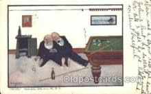 spo018217 - Billiard Postcard