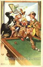 spo018219 - Billiards, Pool Postcard Postcards