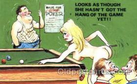 spo018228 - Billiards, Pool Postcard Postcards