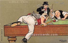 Les Sports XX Le Billard by CH Beauvais
