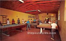 spo018273 - Old Vintage Pool / Billards Postcard Post Card