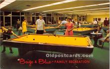 Beige & Blue Family Recreation, Billiard Center