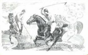 spo019013 - Artist Tamagno Polo Postcard Postcards