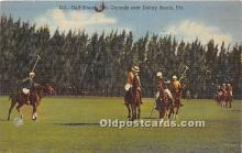 spo019036 - Old Vintage Polo Postcard Post Card