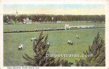 spo019039 - Old Vintage Polo Postcard Post Card