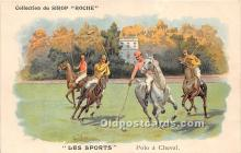 spo019044 - Old Vintage Polo Postcard Post Card