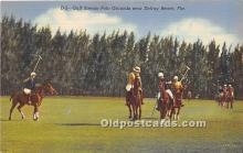 spo019047 - Old Vintage Polo Postcard Post Card