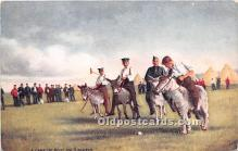 spo019051 - Old Vintage Polo Postcard Post Card