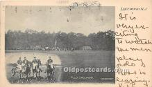 spo019053 - Old Vintage Polo Postcard Post Card