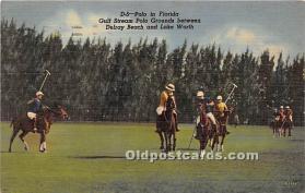 spo019056 - Old Vintage Polo Postcard Post Card