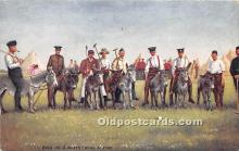 spo019057 - Old Vintage Polo Postcard Post Card
