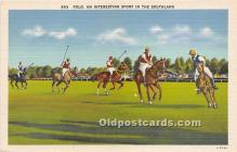 spo019069 - Old Vintage Polo Postcard Post Card