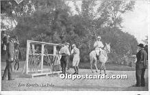 spo019070 - Old Vintage Polo Postcard Post Card